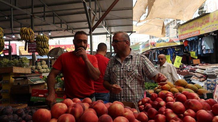 Guia no Mercado de Ramallah - Palestina © Viaje Comigo