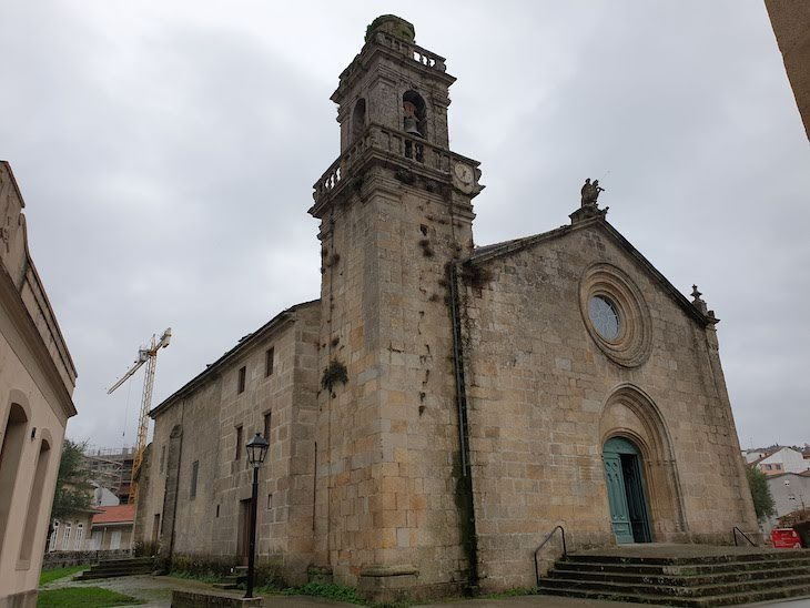 Igreja de Santiago - Cidade de Redondela - Galiza © Viaje Comigo