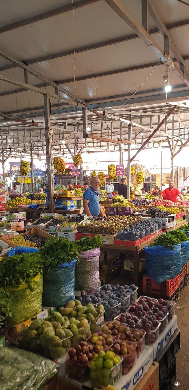 Mercado de Ramallah - Palestina © Viaje Comigo