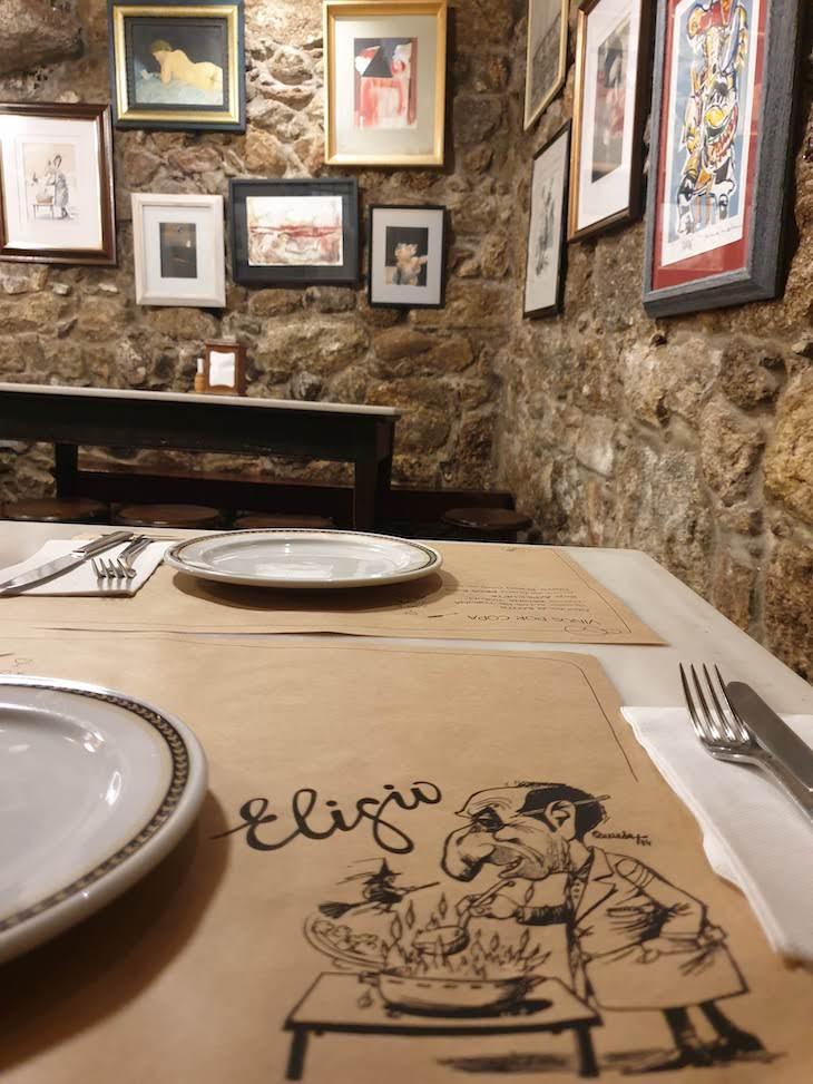 Taberna Eligio - Vigo - Galiza © Viaje Comigo