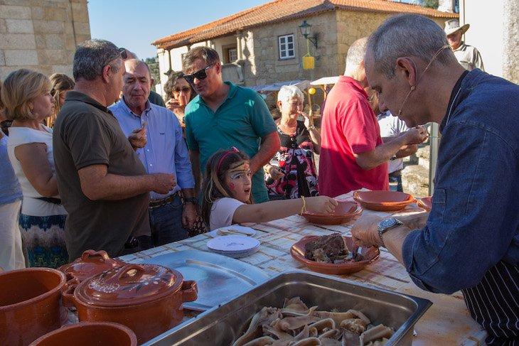 Showcooking de gastronomia de Castelo Mendo - DR © Aldeias Históricas de Portugal