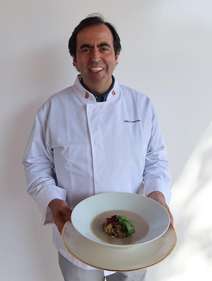 Chef Hélio Loureiro na Festa de Trancoso - Aldeias Históricas de Portugal © Viaje Comigo
