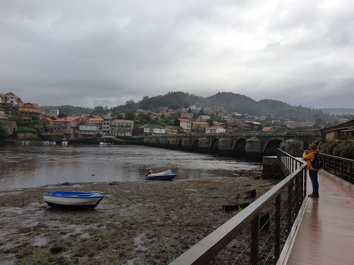 Ponte Sampaio - Caminho Português de Santiago - Galiza © Viaje Comigo