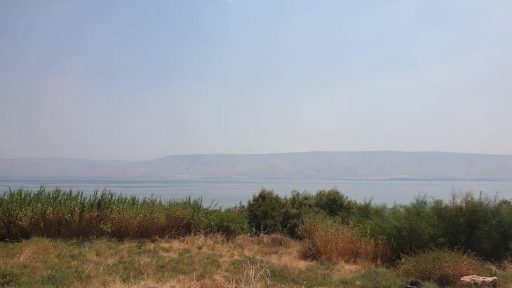 Mar da Galileia - Israel © Viaje Comigo