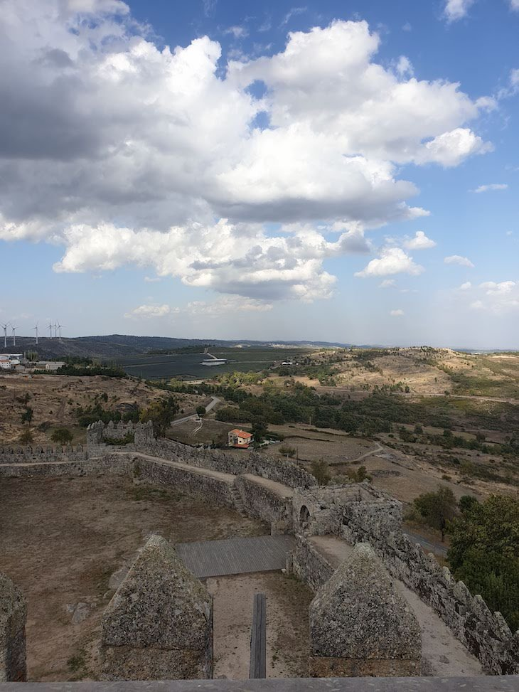 Vista do Castelo de Trancoso - Aldeias Históricas de Portugal © Viaje Comigo