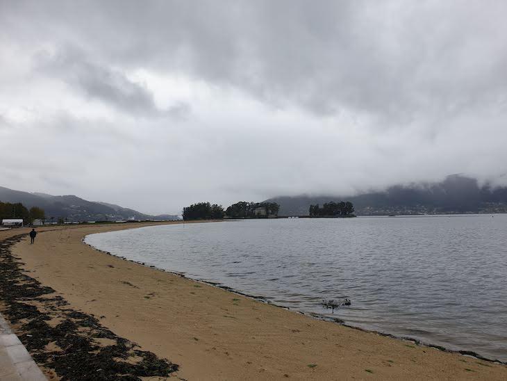 Vista para a Ilha de São Simão - Redondela - Galiza © Viaje Comigo