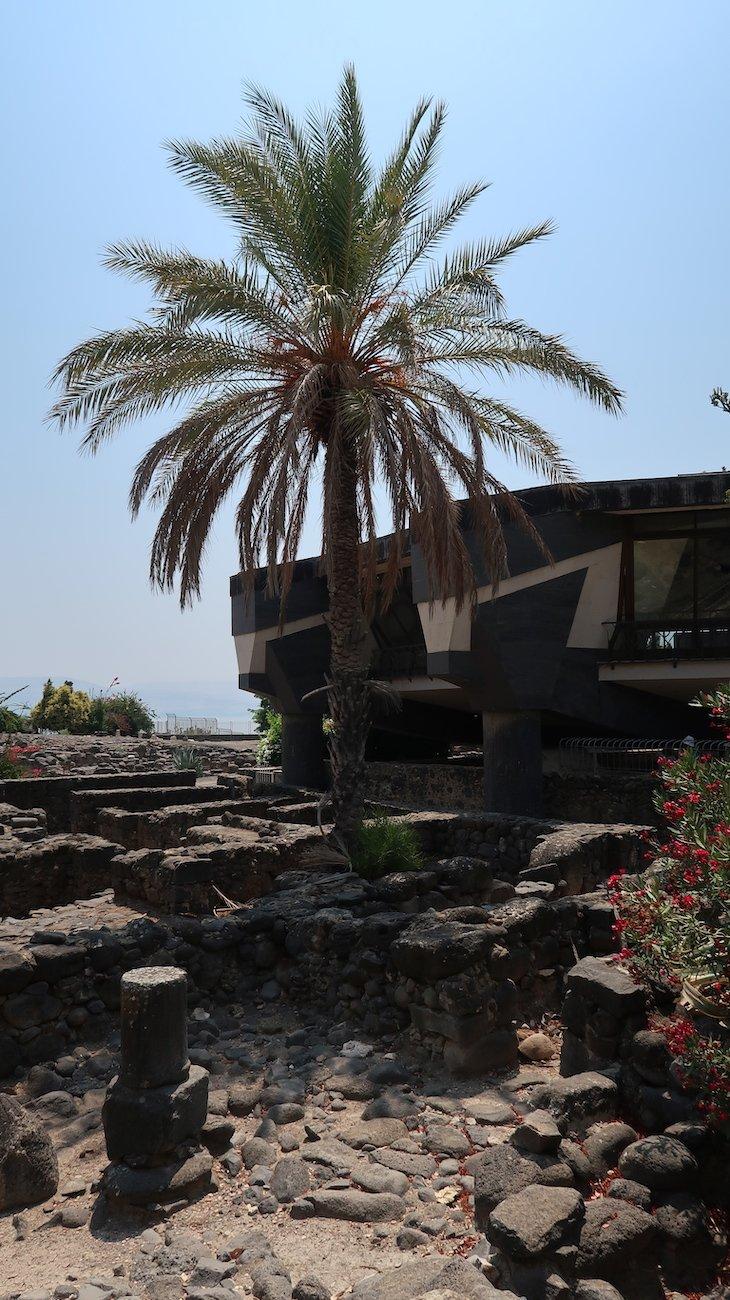 Igreja de Cafarnaum - Cidade de Jesus - Israel © Viaje Comigo