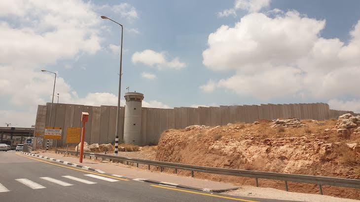 Checkpoint para Palestina © Viaje Comigo