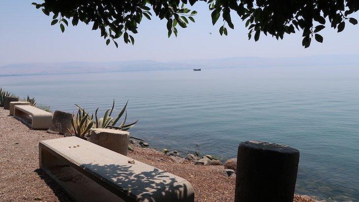 Mar da Galileia - Cafarnaum - Cidade de Jesus - Israel © Viaje Comigo