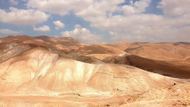 Deserto da Judeia, a caminho de Jericó - Palestina © Viaje Comigo