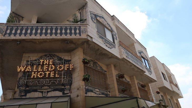 The Walled Off Hotel - Muro Palestina - Belém - Cisjordânia © Viaje Comigo