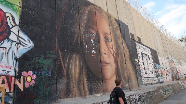Muro Palestina - Belém - Cisjordânia © Viaje Comigo