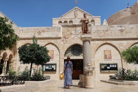 Igreja Santa Catarina junto da Basílica Natividade - Belém - Palestina © Viaje Comigo