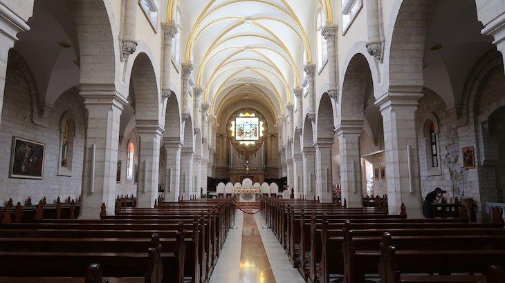 Igreja de Santa Catarina - Basilica Natividade - Belém - Palestina © Viaje Comigo