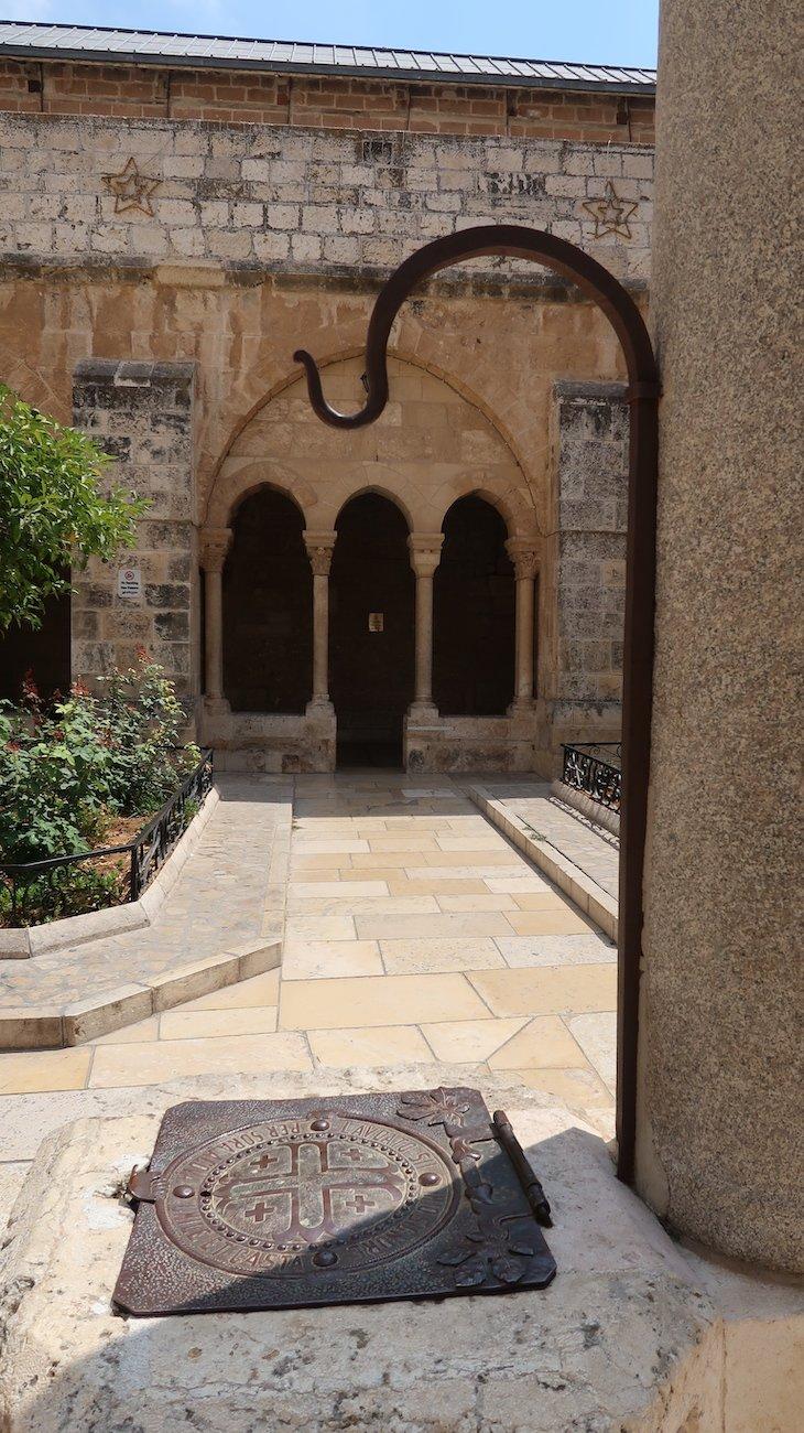Jardim junto da Basílica da Natividade - Belém - Palestina © Viaje Comigo