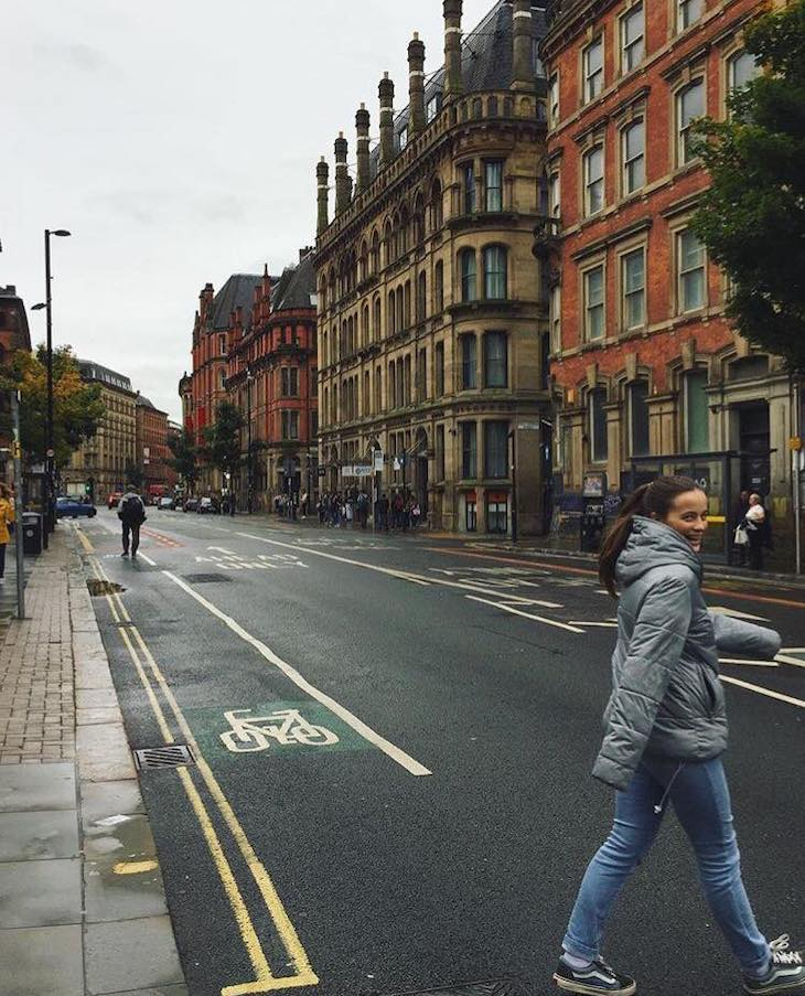 Manchester (Inglaterra) Outubro 2017