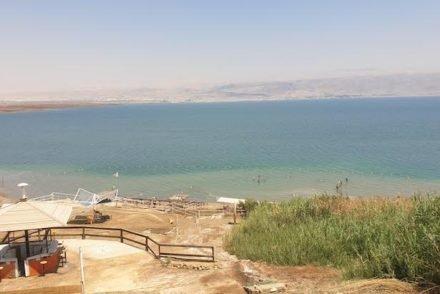 A banhos no Mar Morto - Israel © Viaje Comigo