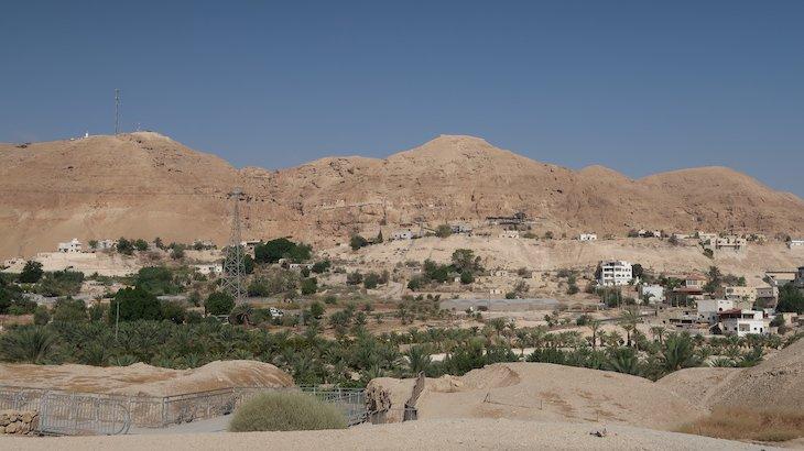 Monte das Tentações - Jericó - Palestina © Viaje Comigo