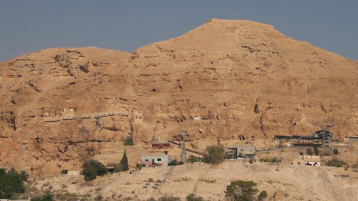 Mosteiro no Monte das Tentações - Jericó - Palestina © Viaje Comigo