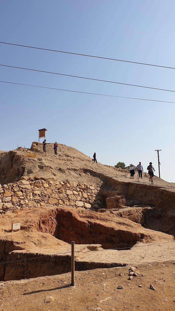 Ruínas de Jericó - Palestina © Viaje Comigo