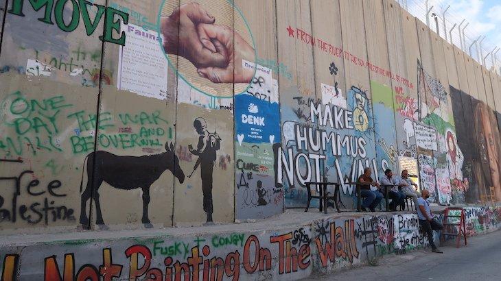 Muro Cisjordânia- Belém © Viaje Comigo