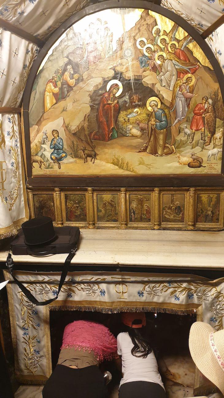 Gruta da Natividade - Basílica da Natividade - Belém - Palestina © Viaje Comigo