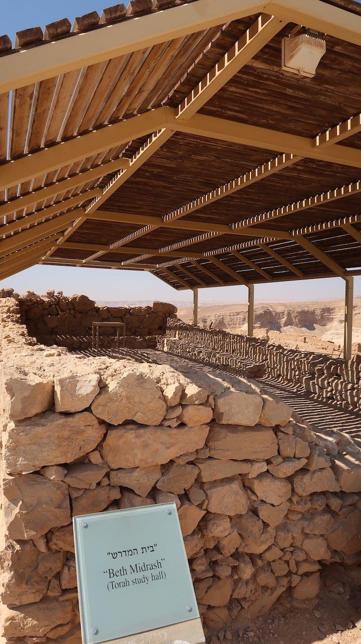 Tour na fortaleza de Massada - Israel © Viaje Comigo