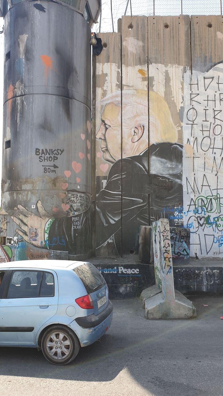 Muro da Cisjordânia - Belém © Viaje Comigo