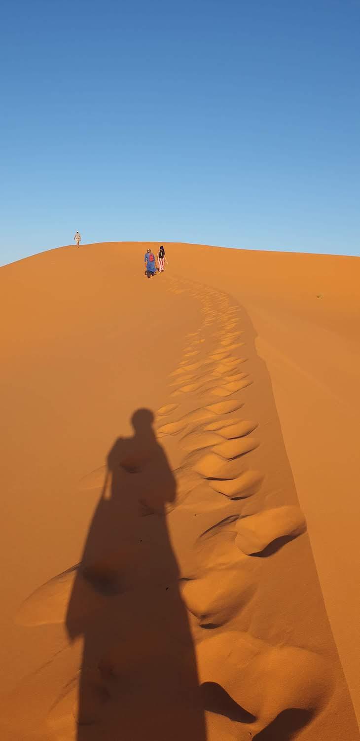 Dunas de Erg Chebbi, Merzouga - Deserto Saara, Marrocos © Viaje Comigo
