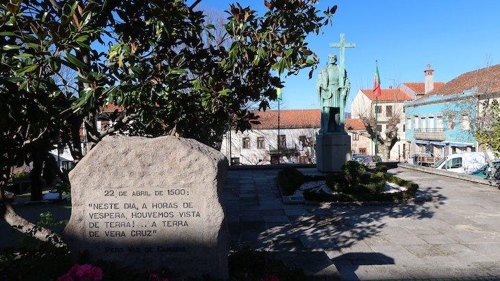 Estátua de Pedro Álvares Cabral Belmonte - Aldeias Históricas de Portugal © Viaje Comigo