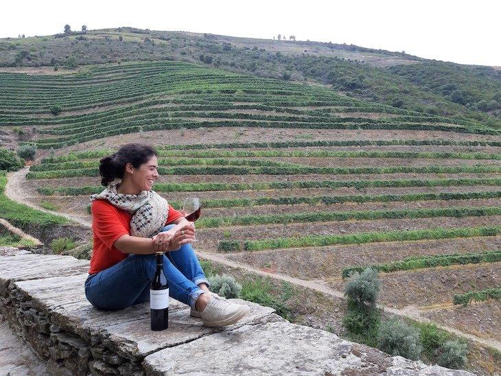 Madalena Vidigal do blog Entre Vinhas no Douro © Entre Vinhas