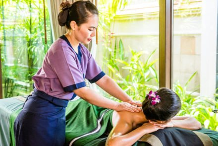 Spa at Banyan Tree Phuket Hotel, Phuket © Amazing Thailand