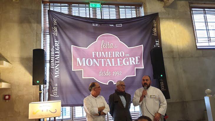 Chef Nuno Diniz, Presidente da Câmara de Montalegre e chef Marco Gomes © DR