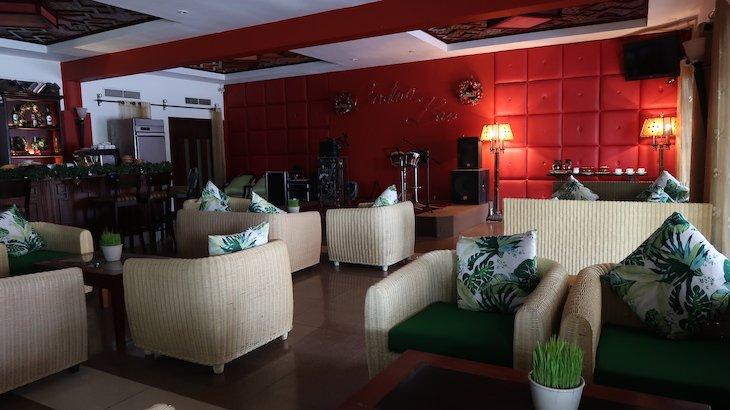 Bar do Palm Garden Beach Resort & Spa, Hoi An - Vietname © Viaje Comigo