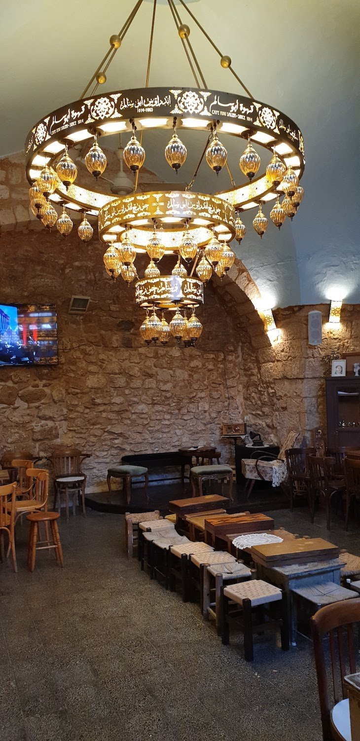 Café Abo Salem - Nazaré - Israel © Viaje Comigo