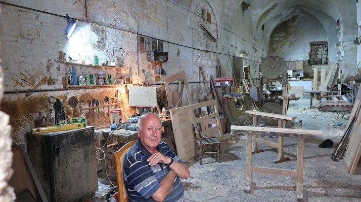 Carpinteiro de Nazaré - Israel © Viaje Comigo