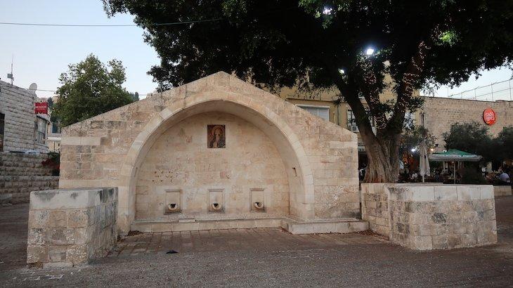 Fonte ou poço de Maria -Nazaré - Israel © Viaje Comigo