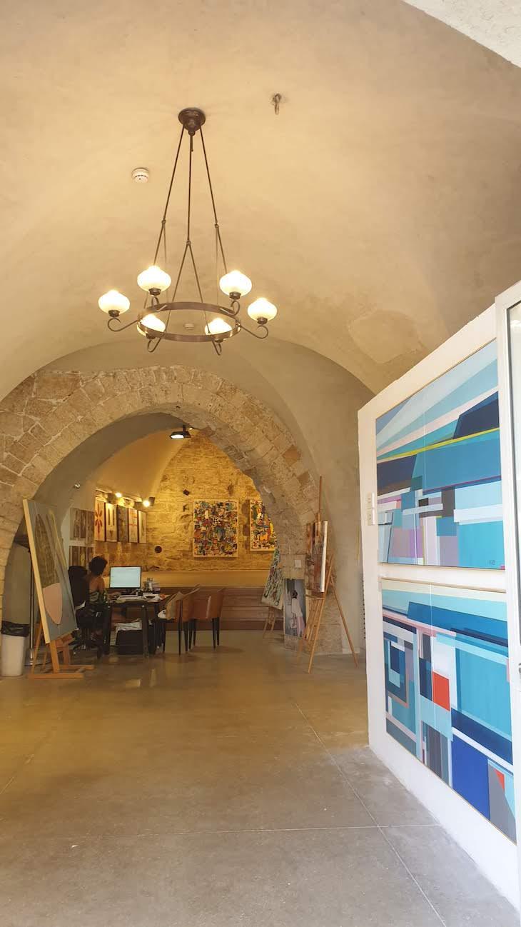 Galerias de Arte em Jaffa - Israel © Viaje Comigo
