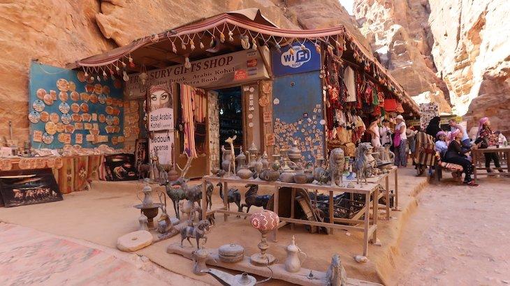 Lojas de Petra - Jordania © Viaje Comigo