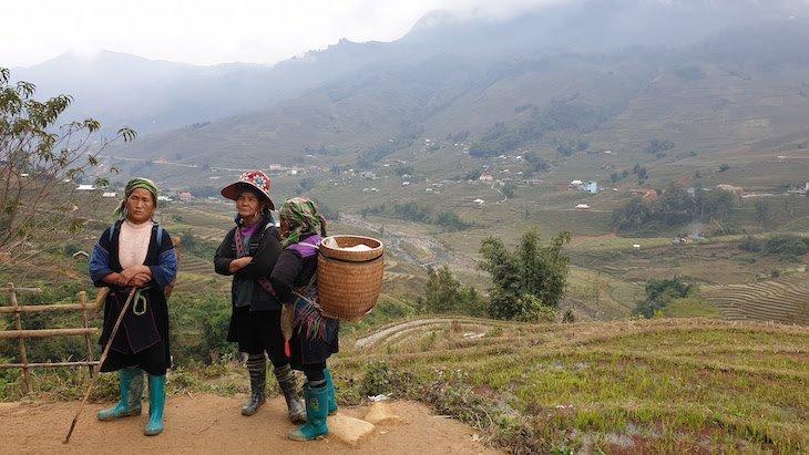 Mulheres de Sa pa - Vietname © Viaje Comigo