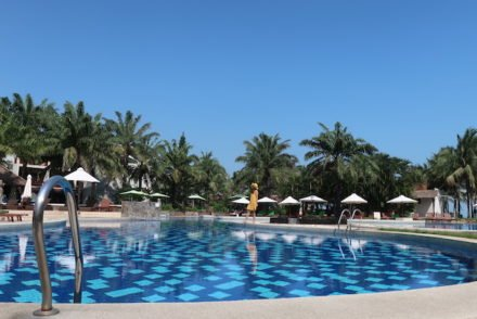 Piscina do Palm Garden Beach Resort & Spa, Hoi An - Vietname © Viaje Comigo