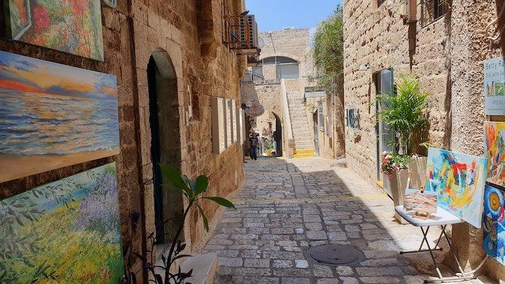 Arte em Jaffa - Israel © Viaje Comigo