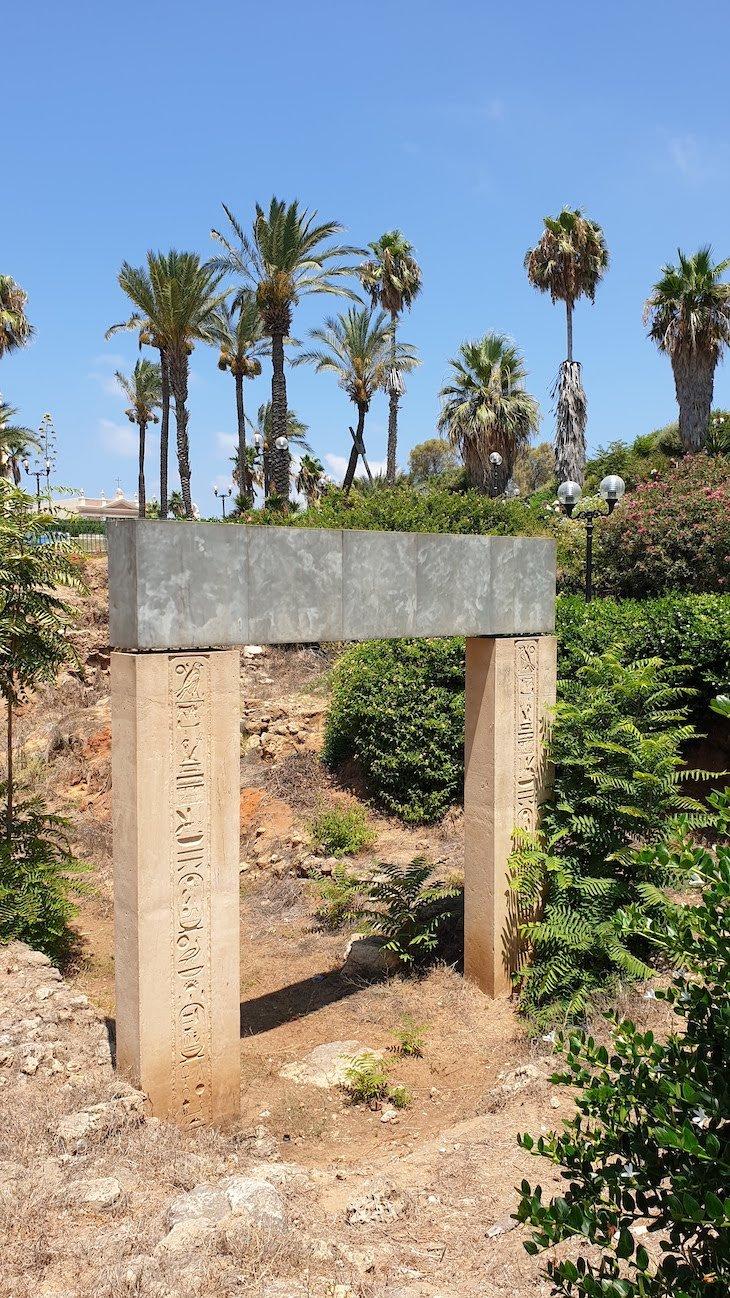 Portão egípcio (réplica) - Jaffa - Israel © Viaje Comigo