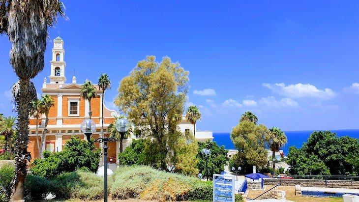 Igreja de S. Pedro - Jaffa - Israel © Viaje Comigo
