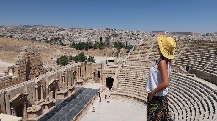 Su Jerash - Jordânia © Viaje Comigo