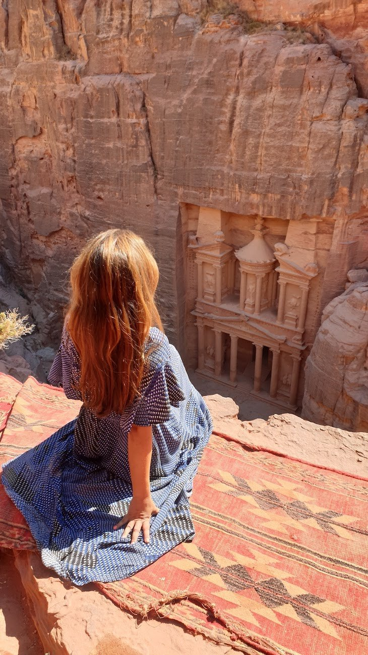 Petra - Jordânia © Viaje Comigo