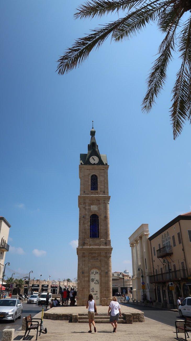 Torre do Relógio de Jaffa - Israel © Viaje Comigo