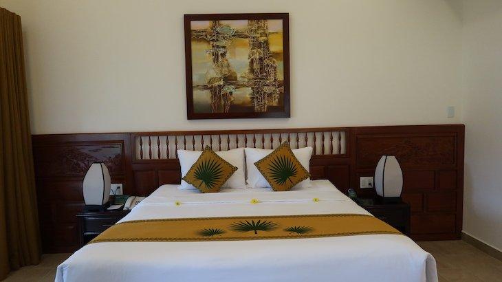 Quarto do Palm Garden Beach Resort & Spa, Hoi An - Vietname © Viaje Comigo