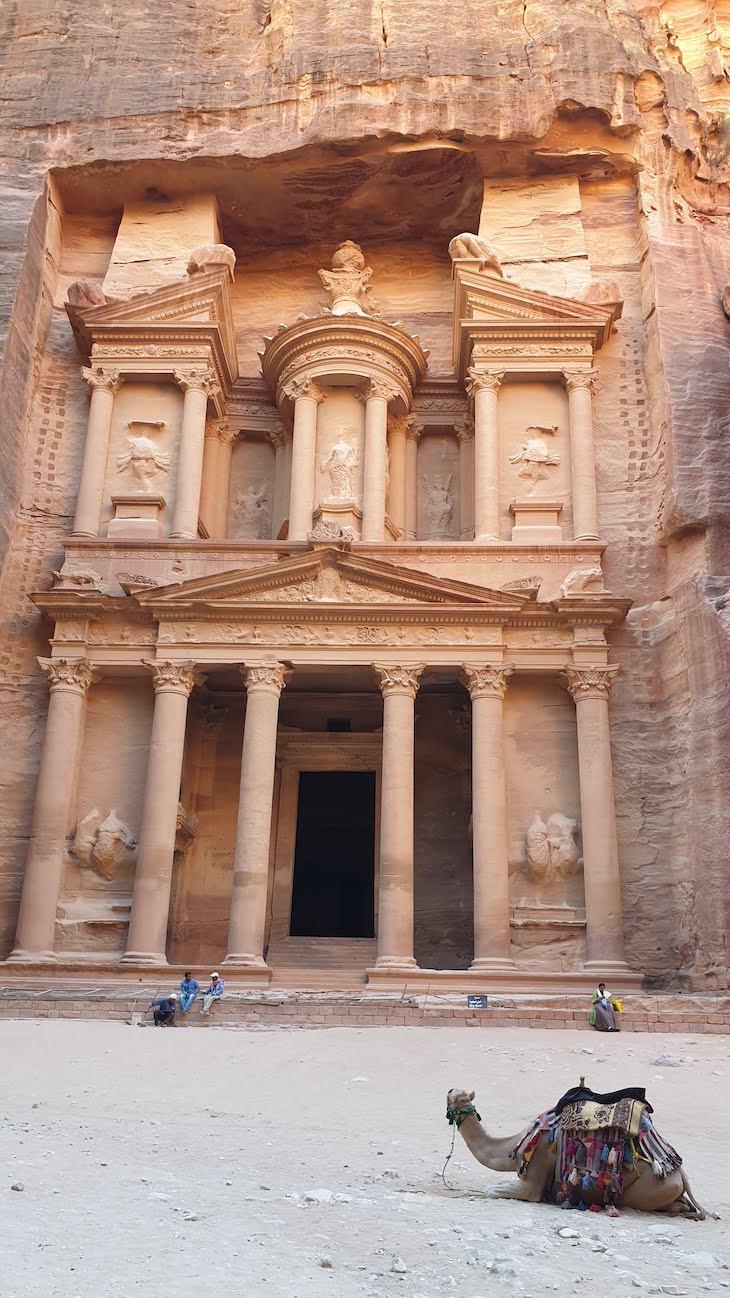 Câmara do Tesouro - Petra - Jordania © Viaje Comigo