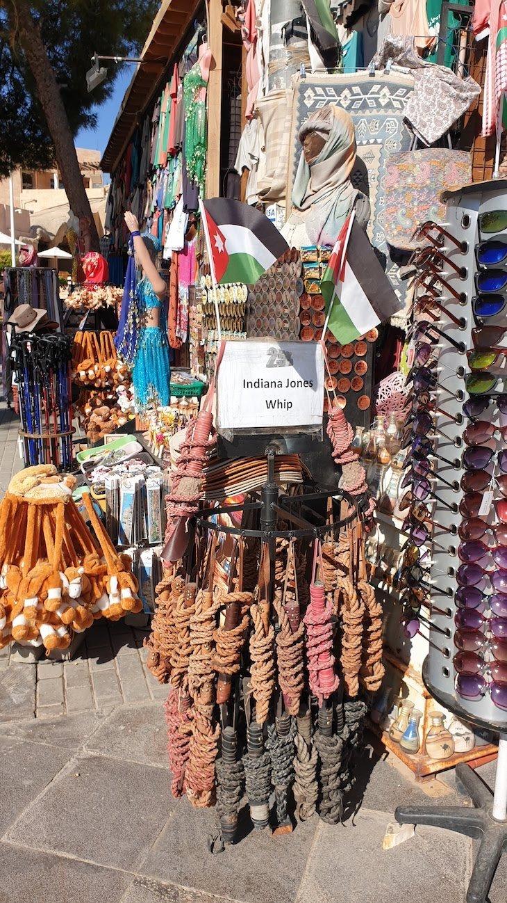 Loja: Chicote do Indiana Petra - Jordânia © Viaje Comigo